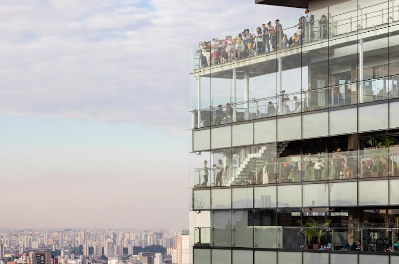 Sesc paulista exibe filmes no terraço