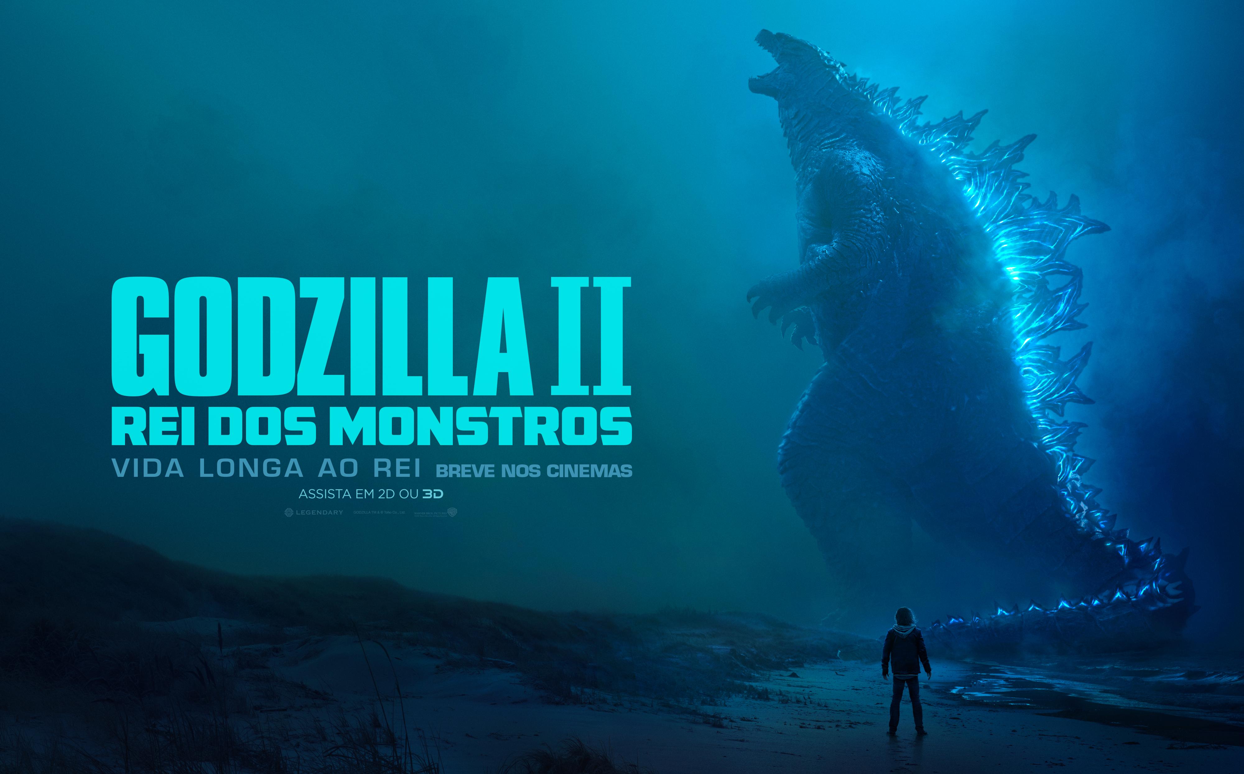 Godzilla Ii Rei Dos Monstros Ganha Novo Trailer E T C